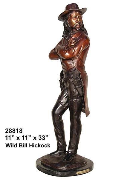 Bronze Wild Bill Hickock - AF 28818