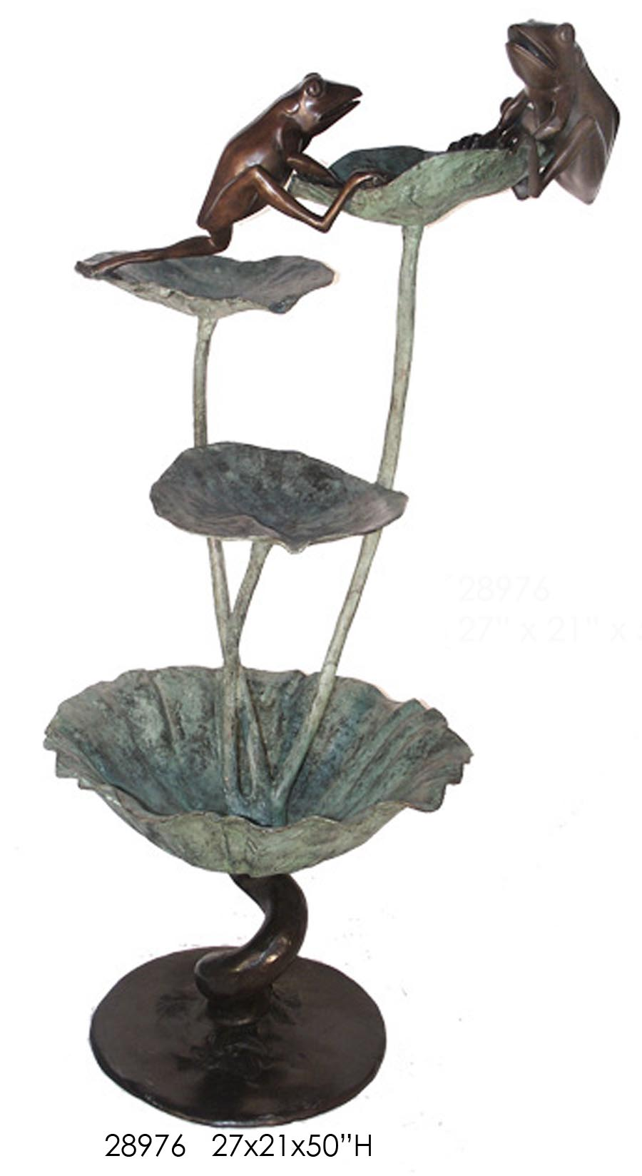 Bronze Frog Fountains - AF 28976