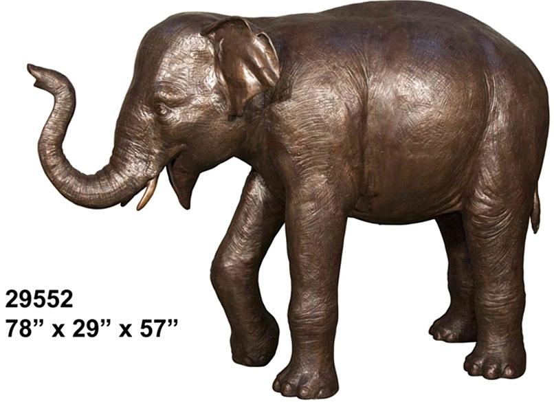 Bronze Elephant Statues - AF 29552
