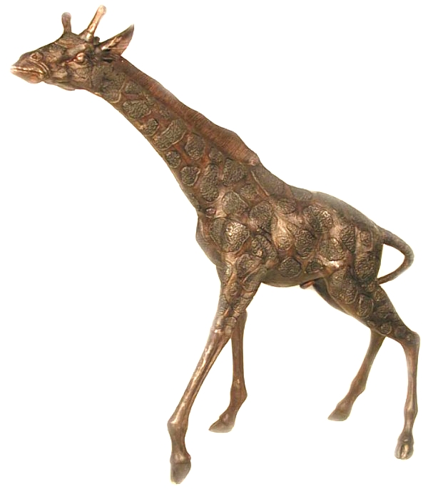Bronze Giraffe Statues - AF 55016