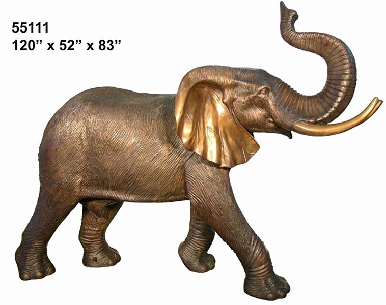 Bronze Elephant Statues - AF 55111