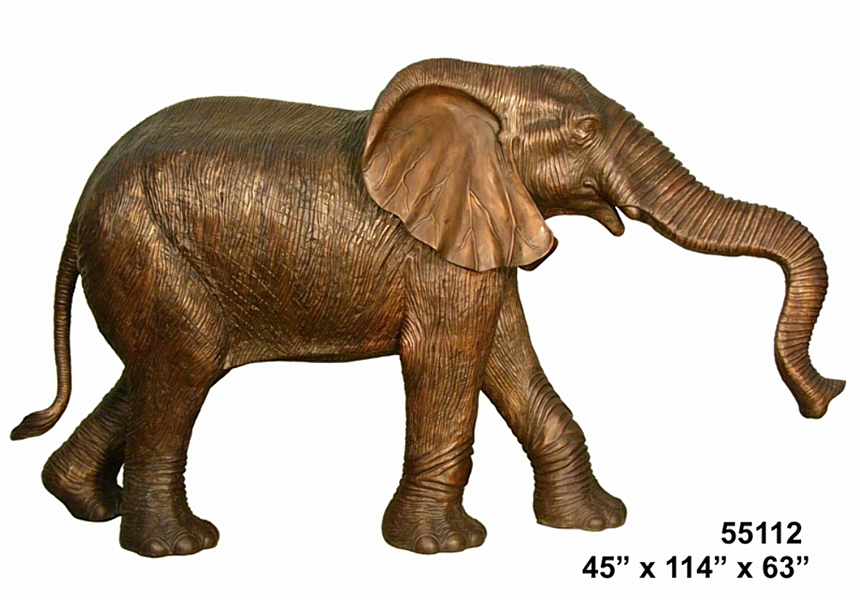 Bronze Elephant Statues - AF 55112
