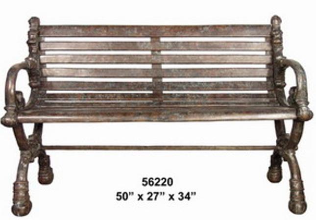 Bronze Park Bench (Copy) - AF 56220
