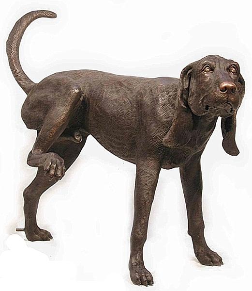 Bronze Dog Fountain - AF 75001-1