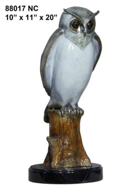 Bronze Owl Statues - AF 88017NC
