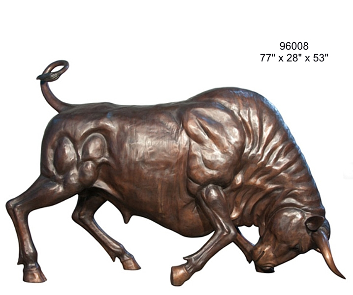 Bronze Bull Statues - AF 96008